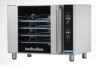 Moffat E31D4 Turbofan Electric Countertop Convection Oven, (4) 1/2 Size Sheet Pan Capacity & Digital Controls
