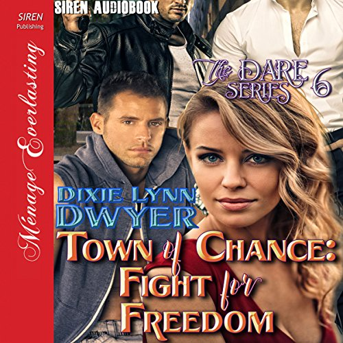 Town of Chance: Fight for Freedom audiobook cover art
