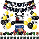 NOA A_mong Us Game Party Supplies Set Anime Theme Cumpleaños Regalo Dcoration para Niños Festival Arte Artesanía