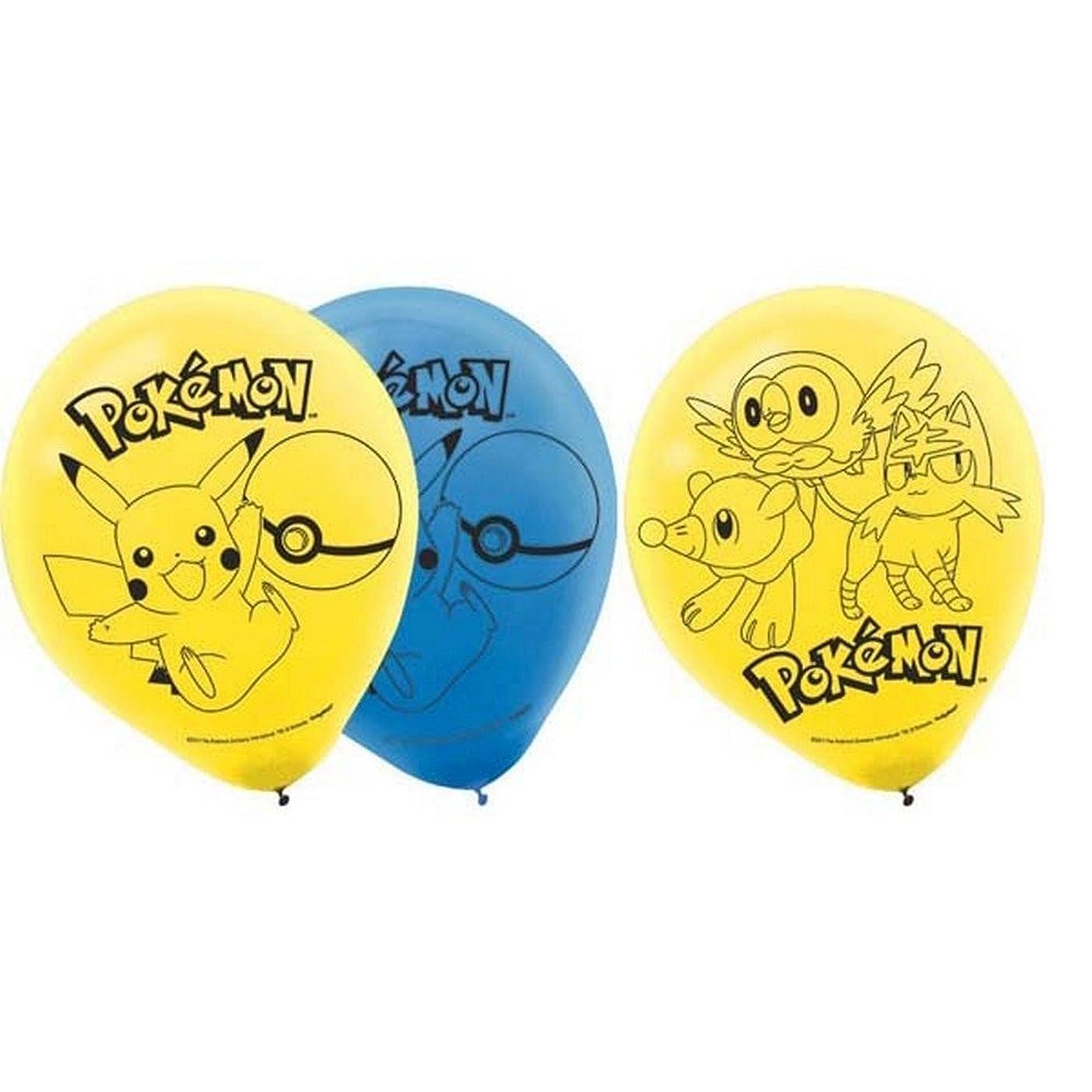 Amscan Pokemon Core 12