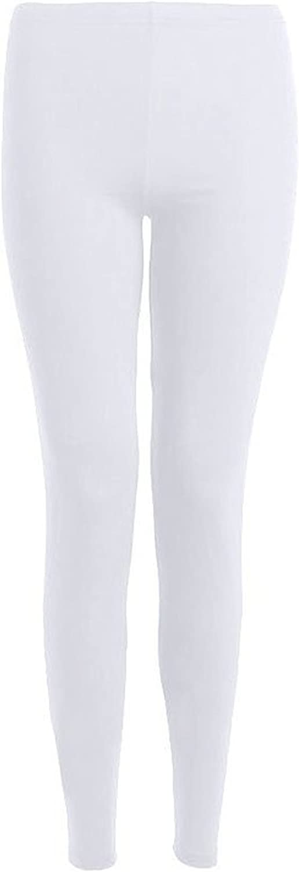 GirlsWalk Girls Plain Full Length Stretchy Leggings