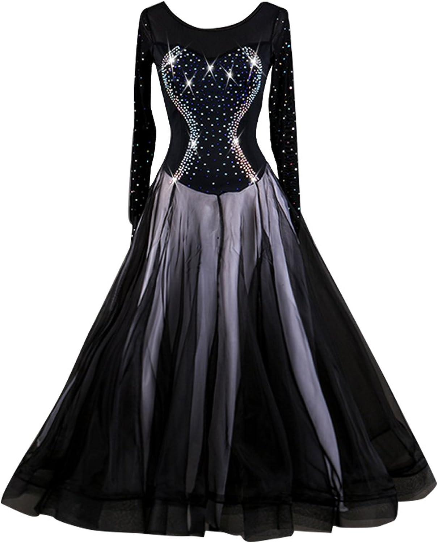 NAKOKOU Women's Ballroom Dance Competition Dress Waltz Standard Ballroom Dance Performance Dance Dress