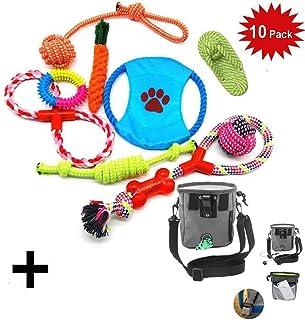 f6774cf615d9f2 WoBoSen 10 Pezzi di Giocattoli del Cane, Piccolo a Medio Pet cani Giocattoli  InterAttivi Set