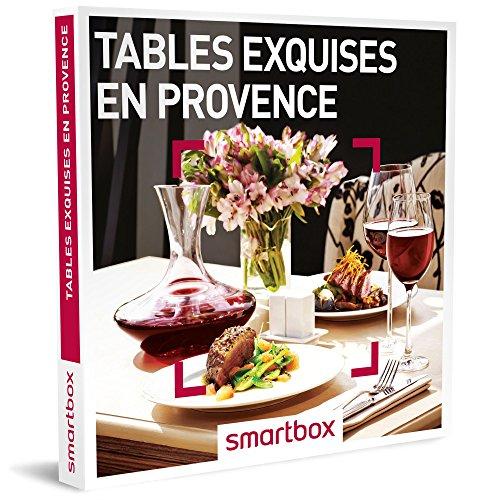 Coffret Smartbox Tables exquises en Provence