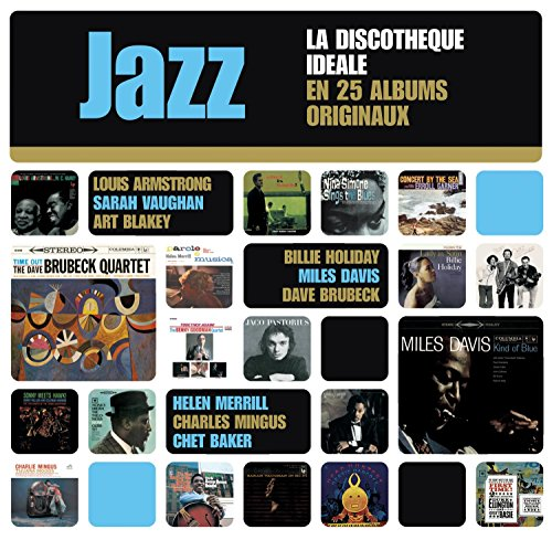 The perfect Jazz Collection: 25 Original Album