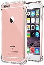 Jenuos Funda iPhone 6 Plus / iPhone 6S Plus, Transparente Suave Silicona Protector TPU Anti-Arañazos Carcasa Cristal Caso Cover para Apple iPhone 6 Plus / 6S Plus - Transparente (6P-TPU-CL)