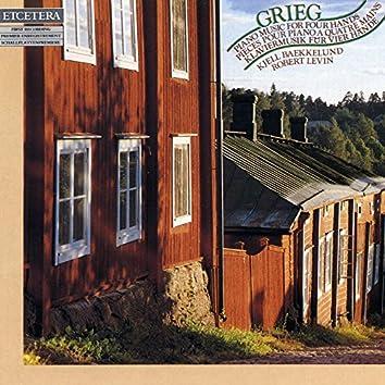 Grieg, Piano music for four hands, klaviermusik für vier hände