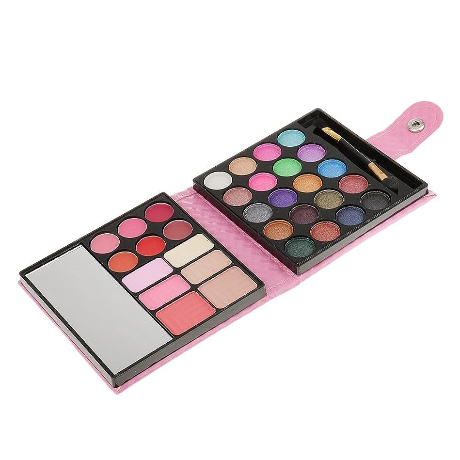 矢チョコレートエリートSharplace メイクアップパレット 約20色 アイシャドウ ラッシュ リップグロス パレットセット 高品質2種選ぶ - ピンク