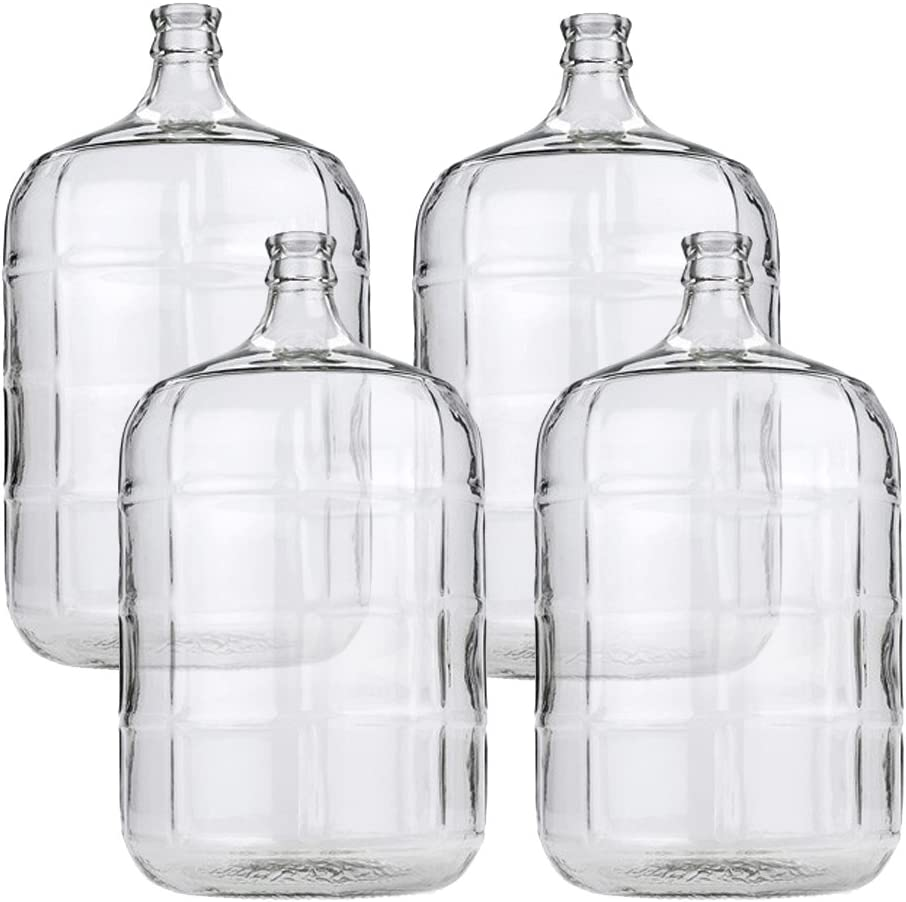 4 X Elegant 5 Gallon Glass Carboy or Sale special price For Beer Wine Making
