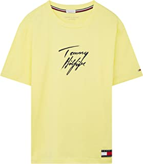 Tommy Hilfiger Crew Neck Logo Womens Short Sleeve T-Shirt
