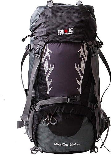 XXYQ Sacs à dos de randonnée Sac à Dos en Nylon Polyester Imperméable pour Randonnées en Plein Air