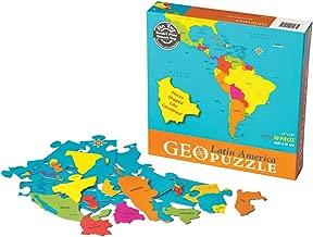 GeoPuzzle Latin America Geography Educational Jigsaw Puzzle