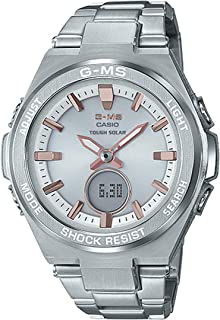 Ladies' Casio Baby-G G-MS Stainless Steel Watch MSGS200D-7A