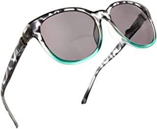 Cateye Bifocal Reading Sunglasses for Women Sunglass Readers with Designer Style