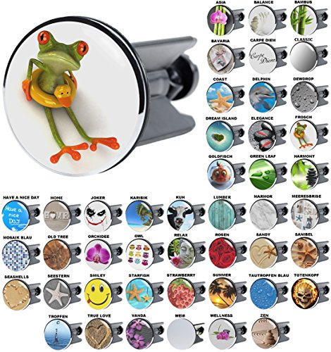 Waschbeckenstöpsel Frosch, viele schöne Waschbeckenstöpsel zur Auswahl, hochwertige Qualität ✶✶✶✶✶