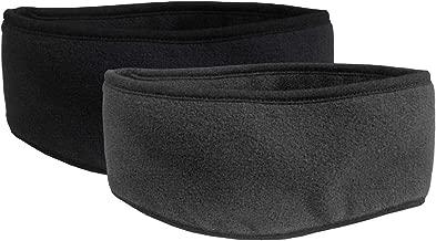 N'Ice Caps Kids 2-Pack Double Layered Winter Fleece Stretch Earlap Headband