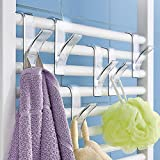 12 x Wenko 8197500 Badezimmer Habdtuchhalter Handtuch Halter Haken-Set Haken Handtuchhalter...