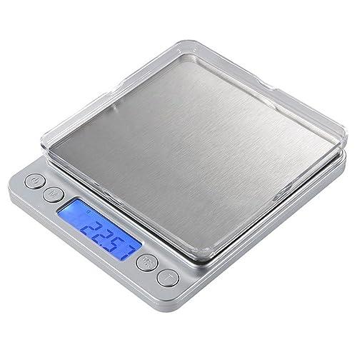 Báscula electrónica de alta precisión y acero inoxidable para la cocina