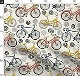 Zahnräder, Radzähne, Rennen, Fahrrad Stoffe - Individuell