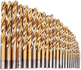SHENYUAN 25 قطع m2 hss 6542 تويست مثقاب بت مجموعة 1-13 ملليمتر التيتانيوم مغلفة مثقاب مع مربع معدني للحفر المعدنية الخشب P...