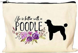 Poodle Life is Better Makeup Bag
