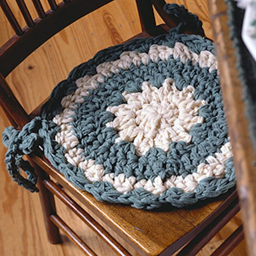 Charming Chair Pad Crochet ePattern (English Edition)