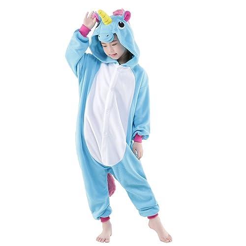 NEWCOSPLAY Unisex Children Unicorn Pyjamas Halloween Costume d9f64e7a6