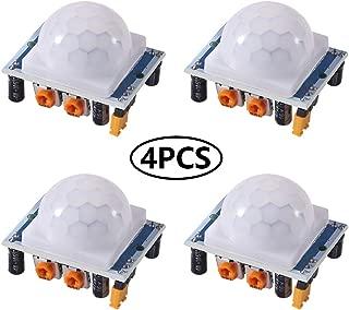 4PCS HC-SR501 Pyroelectric Infrared IR PIR Motion Sensor Detector Module for Arduino & Raspberry Pi Projects