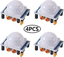4PCS HC-SR501 Pyroelectric Infrared IR PIR Motion Sensor Detector Module for Arduino & Raspberry Pi Projects
