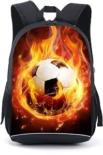 mochila escolar de 17 pulgadas para estudiantes (El futbol)