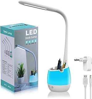 LED Schreibtischlampe Kinder, ERAY LED Lampe Kinder Touch Control / 3 Farbemodi & 3..