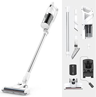 dodocool Upright Cordless Vacuum Cleaner, Bagless 2 in 1...
