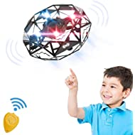 Remoukia Hand Operated Drones Toys for Kids or Adults - Mini Drones Hand Controlled Flying Ball...