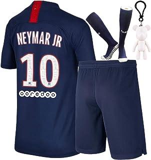 Many Mornings Chaussettes pour enfants color/ées Football Fan Kids avec motif football footballeur coton terrain de football ballon