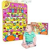 Magicfun Musikmatte, Baby Early Lernen Lernspielzeug für das Lernen von englischen Buchstaben und Wörtern, Hörbuch und ABC Spielzeug lernen, Interaktionslernen Touch Play Spiel für Kinder /Kleinkinder
