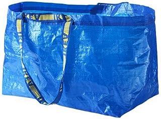 小さくてコンパクト [IKEA]    FRAKTAキャリーバッグLブルー