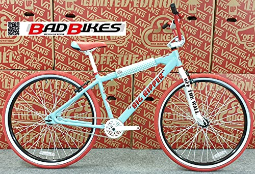 SE Bikes Vans Big Ripper 29R BMX Bike 2021 (43cm, Blue)