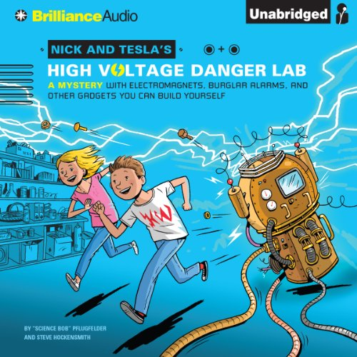 Nick and Tesla's High-Voltage Danger Lab cover art