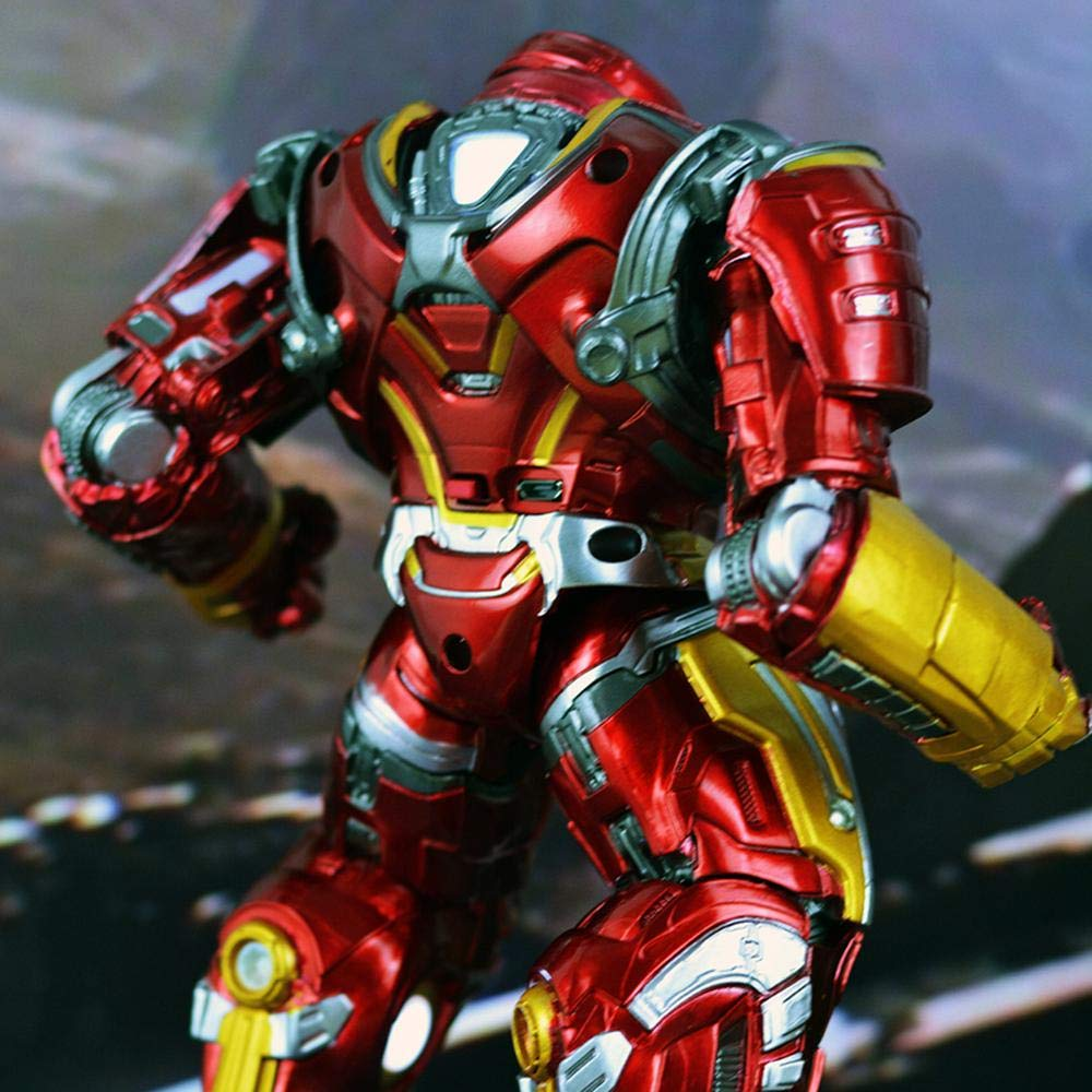 TOYEE Avengers 3 Iron Man Anti-Hulk 2.0 Modelo Blindado Juguetes Material De PVC Inamovible Alto 20CM: Amazon.es: Hogar