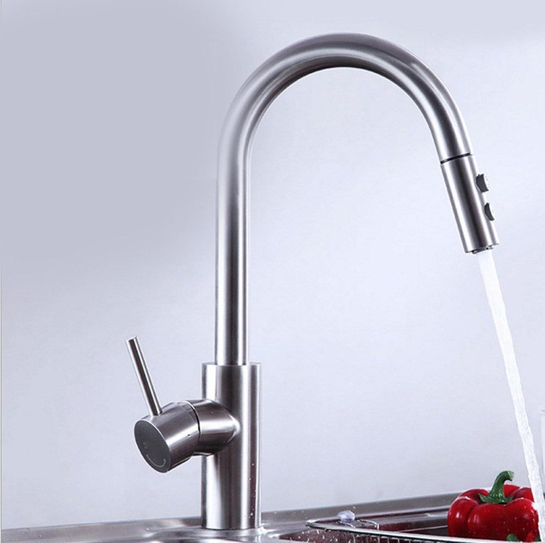 Gyps Faucet Waschtisch-Einhebelmischer Waschtischarmatur BadarmaturDie Edelstahl Mixer Küche Wasserhahn aus Kai-Stil Teller Waschbecken Wasserhahn Wasserhahn,Mischbatterie Waschbecken