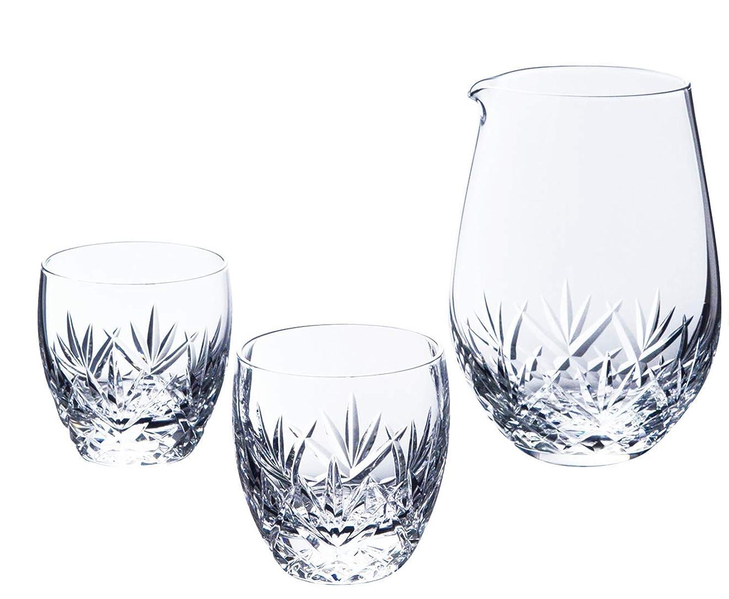 著者同様にヒロイン東洋佐々木ガラス 冷酒セット 酒グラスコレクション 片口 425ml 杯 100ml G087-H102 3点入り