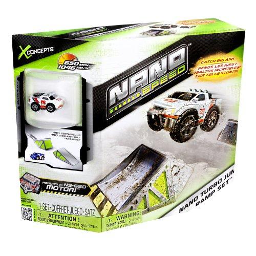 Nano Speed - 6019514 - Véhicule Miniature et Circuit - Coffret Rampes 1 Pk