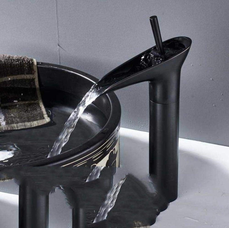 Lddpl Wasserhahn Becken Wasserhahn Wasserhahn Bad Waschtischmischer Chrom Deck montiert Wasserhahn Wasserfall Messing Becken Wasserhahn Wasserhhne