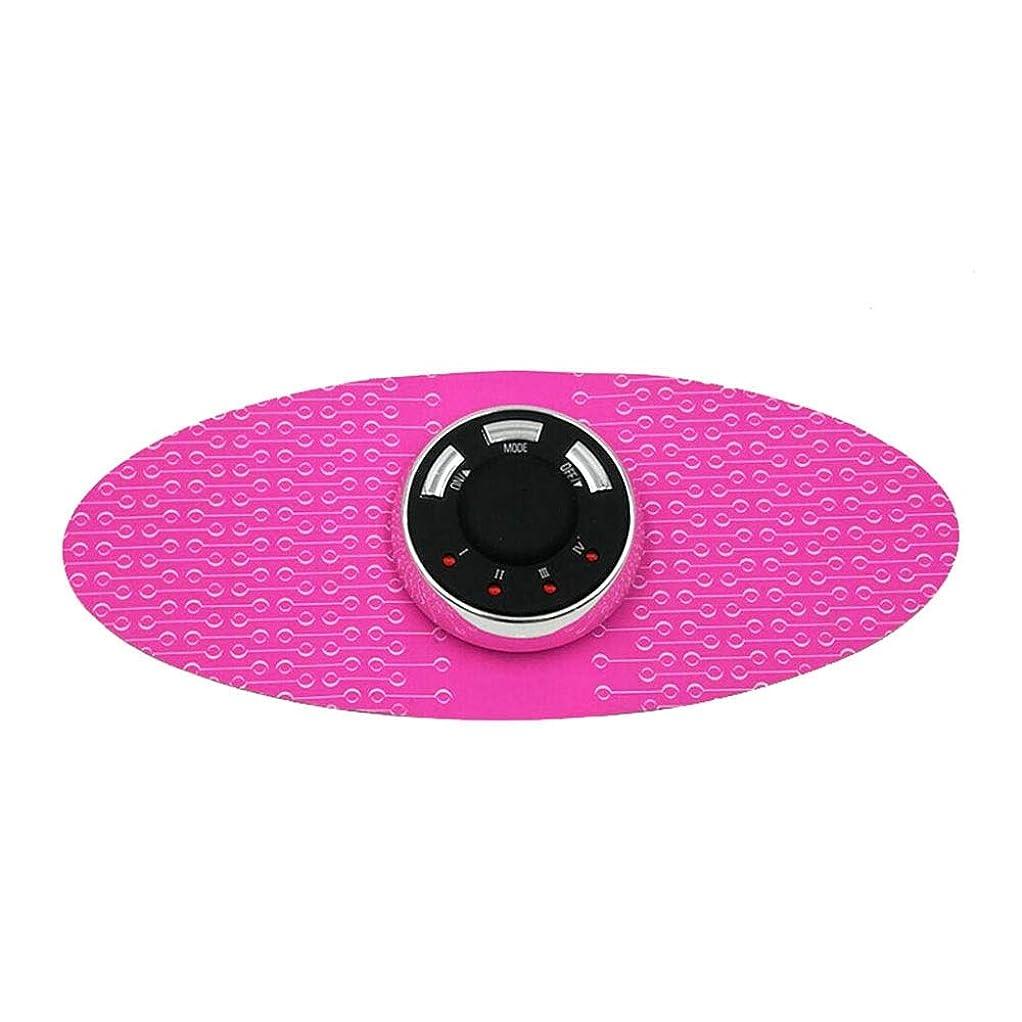 アンプ拘束いじめっ子腹部/腕/足のための腹部の再充電可能な携帯用無線マッサージャーの総本店の適性 (色 : ピンク, サイズ : 20x8.5cm)