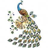 Orologio da parete MagicPro pavone