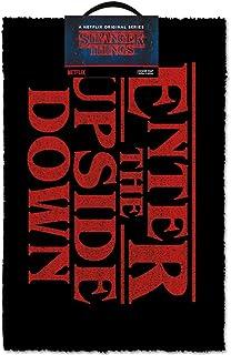 【予約商品】 STRANGER THINGS ストレンジャー・シングス - Enter The Upside Down/ドアマット/インテリア置物 【公式/オフィシャル】