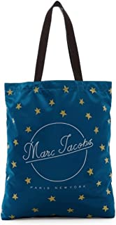 Marc Jacobs Printed Star Packable Shopper Tote - Electric Teal
