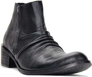 Suetar Casual Zipper-up Chukka Design Leather Dress Boots For Men LB1112