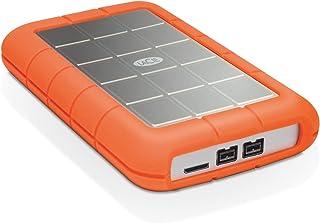 LaCie 莱斯 1?TB 坚固迷你 USB 便携式外置硬盘 Triple