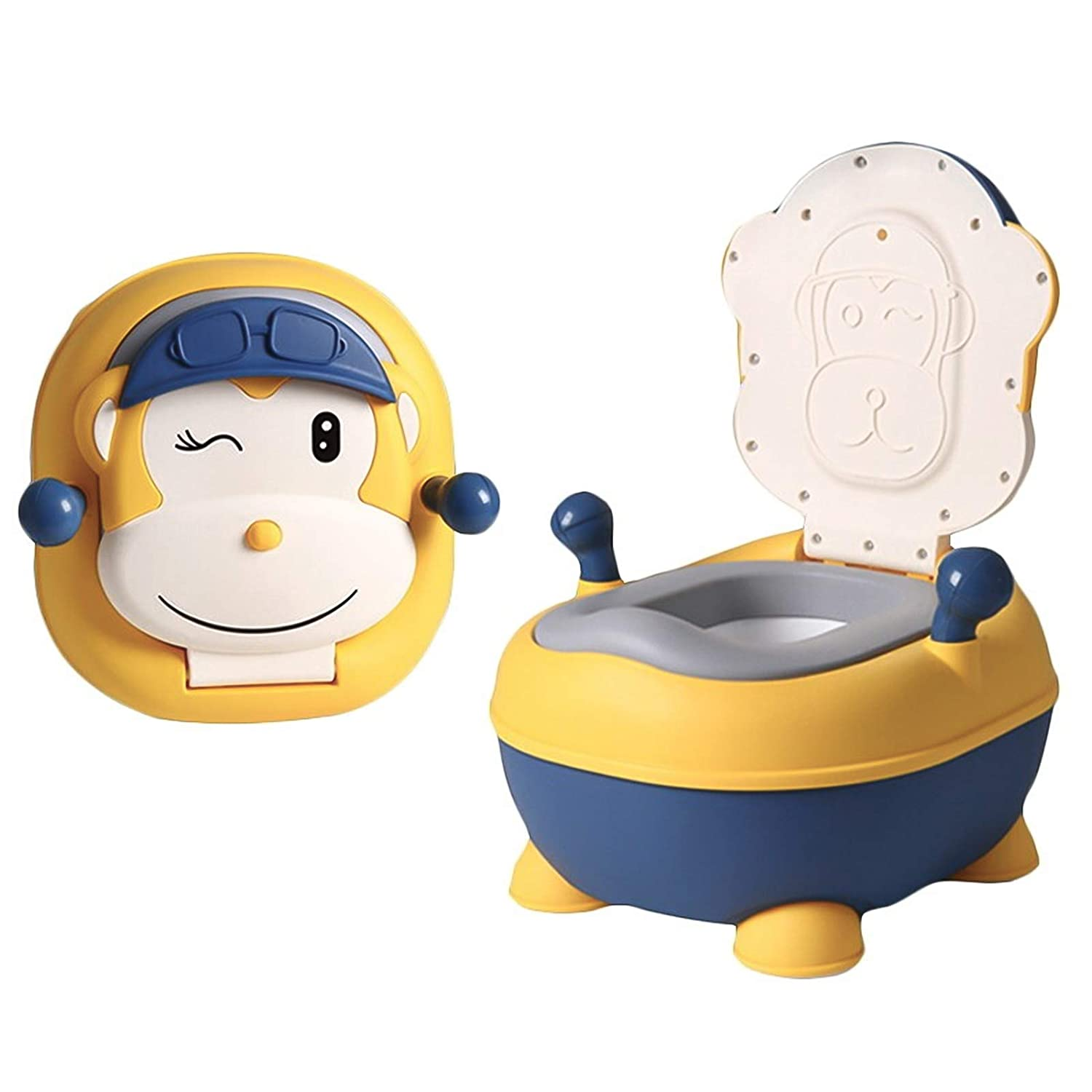 Potty Training Seat Toddlers Potty with Ergonomic Design and Anti-Splash Feature Toilet Trainer Easy to Clean Potty Toilet for Boys and Girls